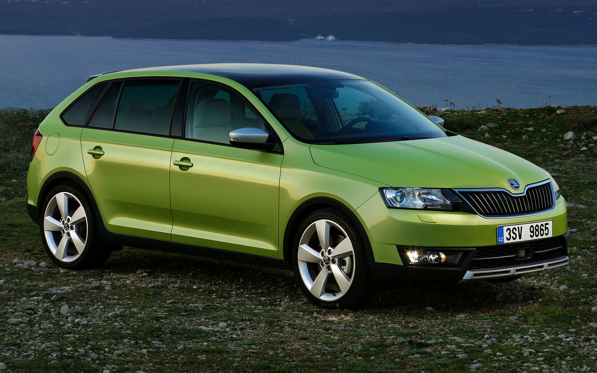 Genesis Car Wallpaper 2015 Skoda Rapid Spaceback Scoutline Wallpapers And Hd