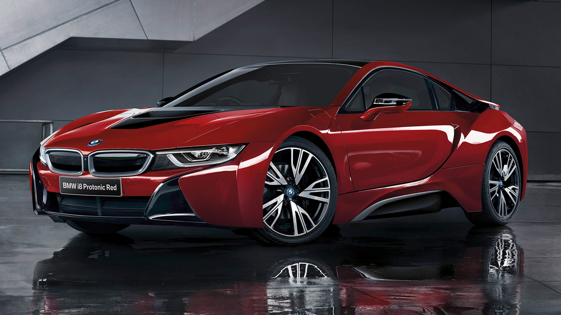 Future Car Wallpaper Hd For Desktop Bmw I8 Protonic Red Edition 2016 Wallpapers And Hd