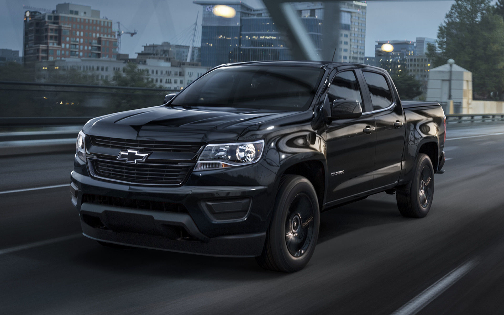 Dodge Muscle Car Wallpaper Chevrolet Colorado Lt Midnight Crew Cab 2016 Wallpapers