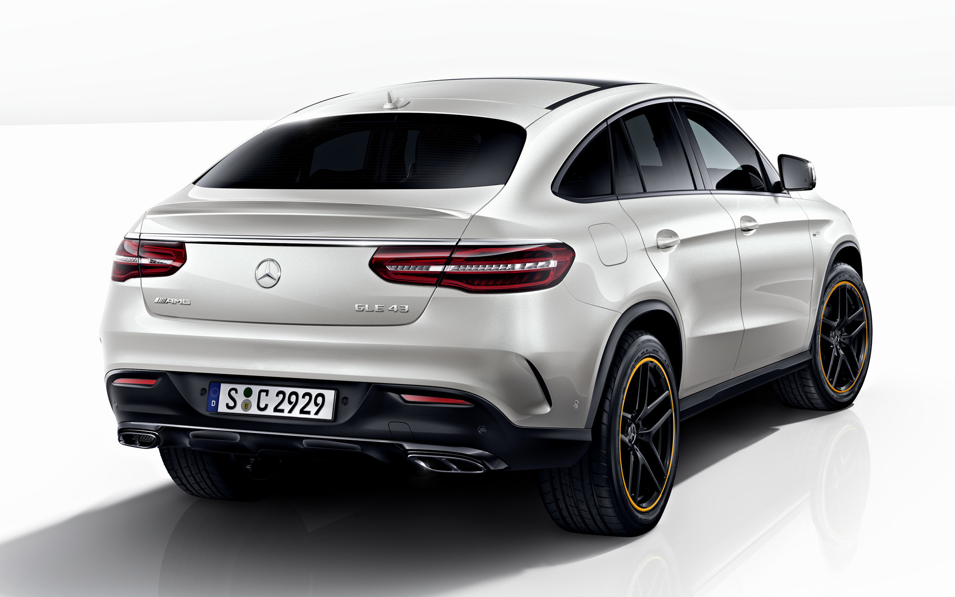 Hd Hybrid Car Wallpaper 2017 Mercedes Amg Gle 43 Coupe Orangeart Edition