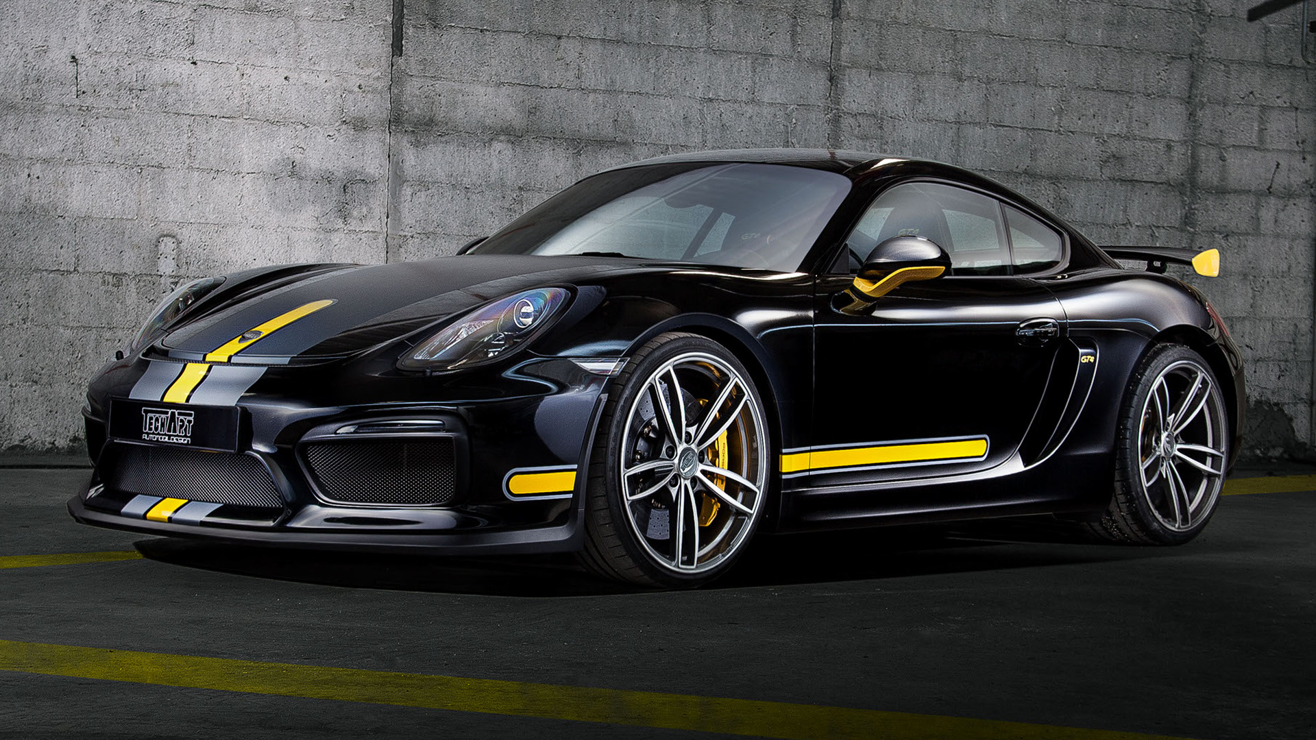 Porsche Boxster Wallpaper Hd Porsche Cayman Gt4 By Techart 2016 Wallpapers And Hd
