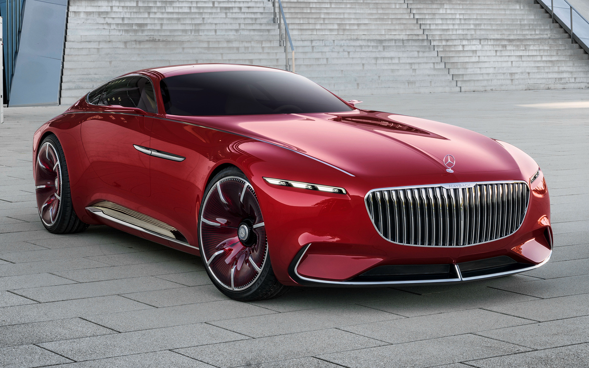 Mobil Hd Wallpaper 2016 Vision Mercedes Maybach 6 Wallpapers And Hd Images