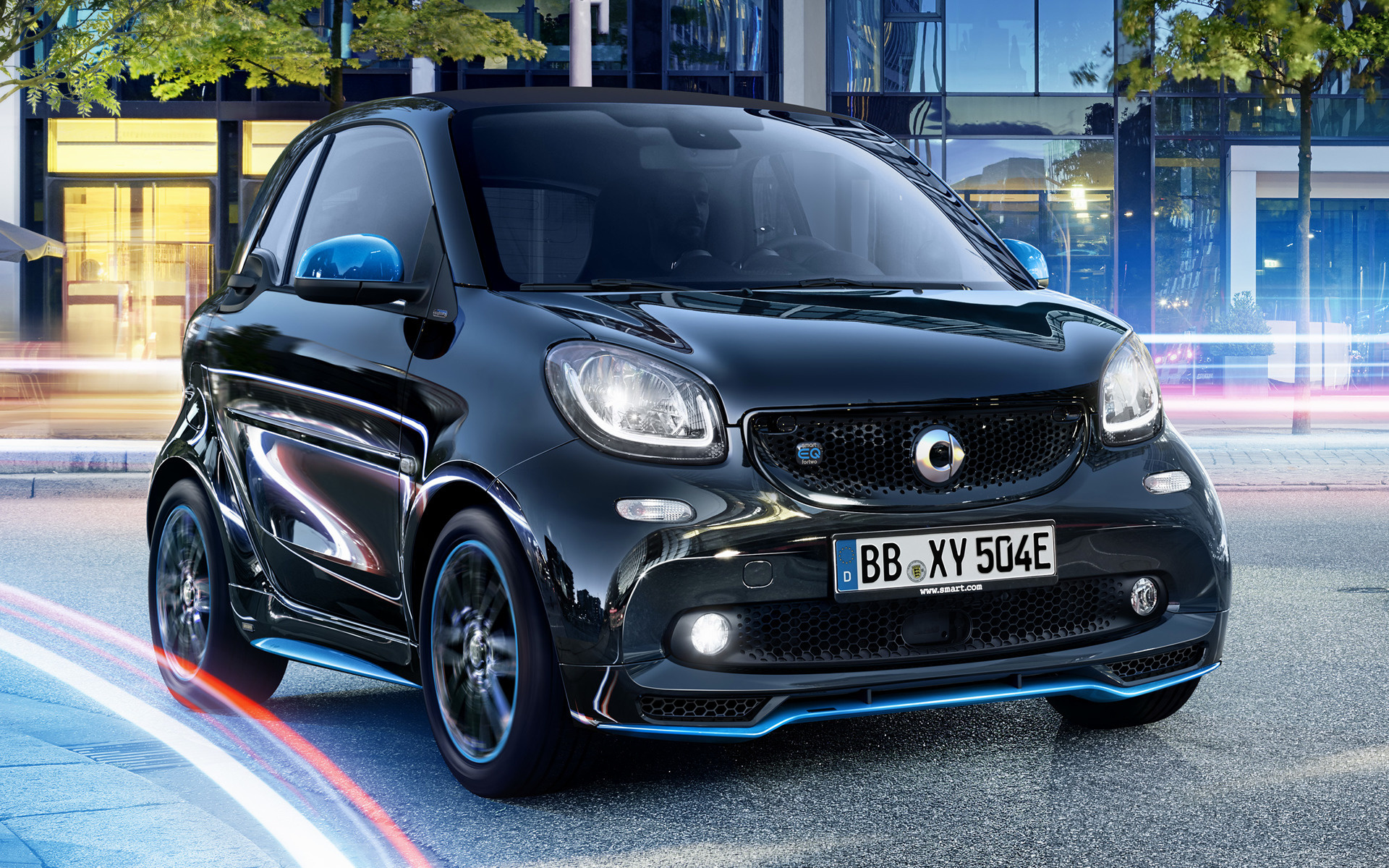 Hd Car Wallpapers Subaru Smart Eq Fortwo Nightsky Edition 2018 Wallpapers And Hd