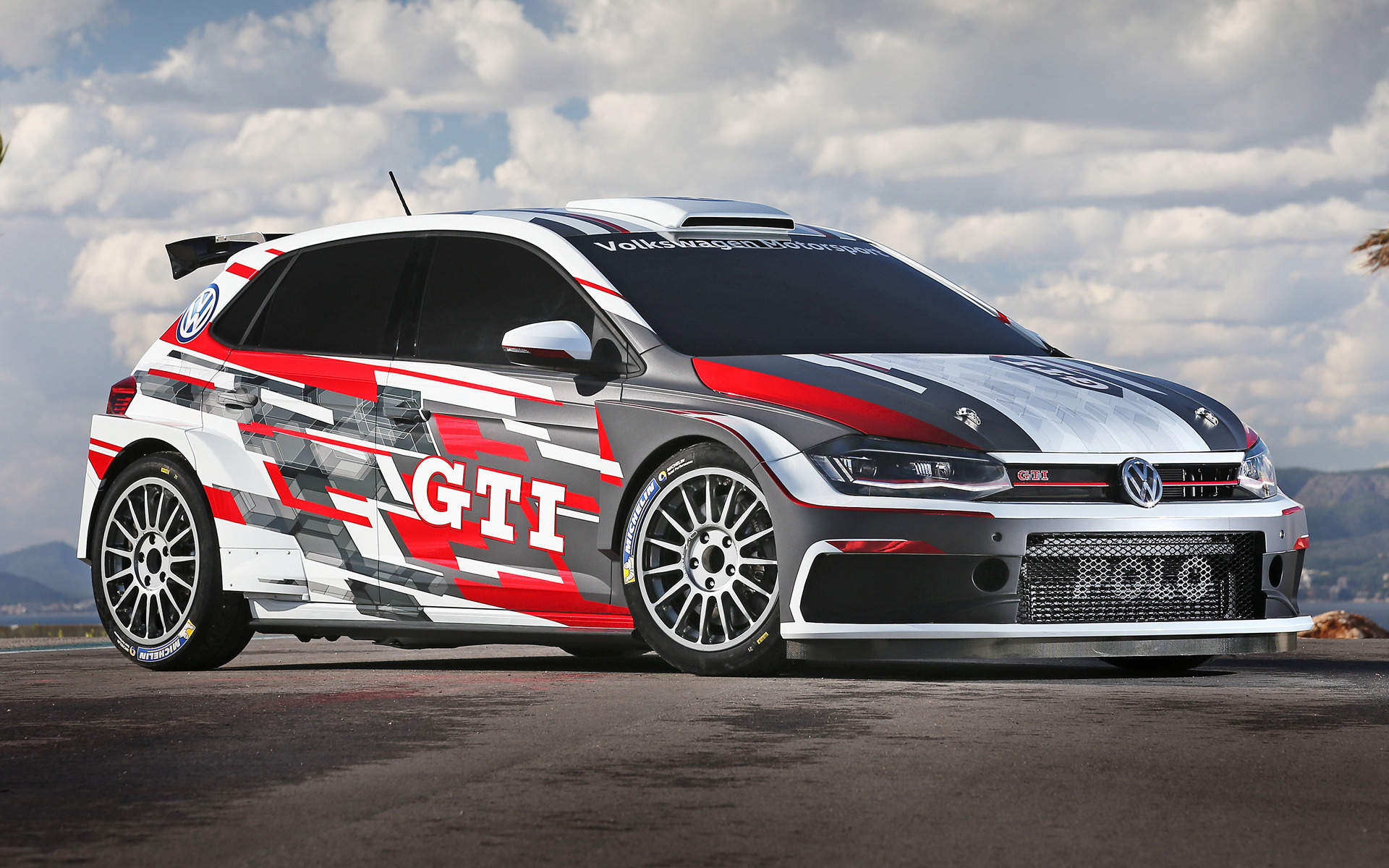 Rally Car Hd Wallpaper Volkswagen Polo Gti R5 2018 Wallpapers And Hd Images