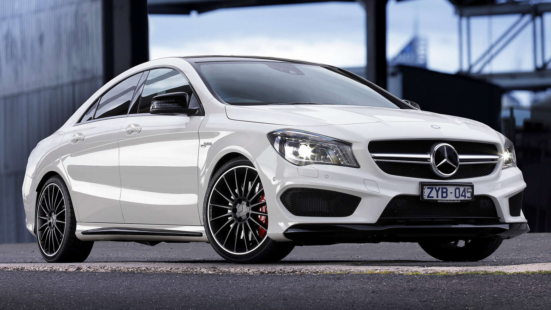 White Audi Car Wallpaper 2013 Mercedes Benz Cla 45 Amg Au Wallpapers And Hd