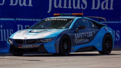 2018 BMW i8 Formula E Safety Car - Wallpapers and HD Images | Car Pixel