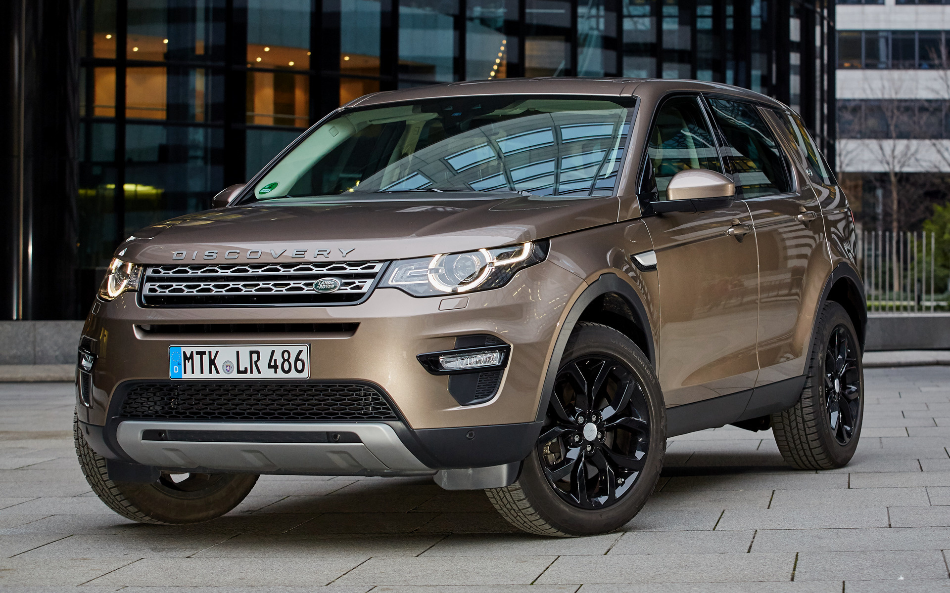 Hd Car Wallpapers Subaru 2015 Land Rover Discovery Sport Black Design Pack