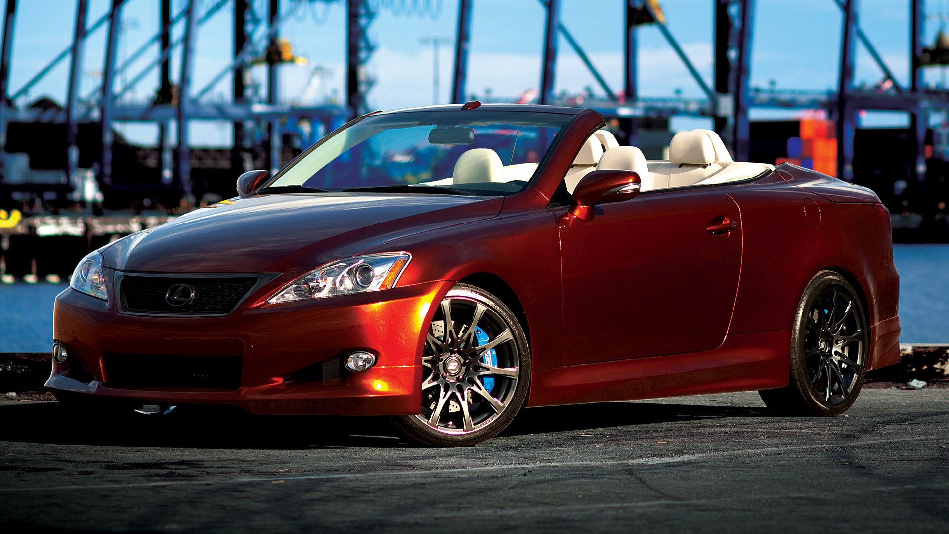 All Car Wallpapers Hd 2009 Lexus Is Convertible F Sport By Trd Wallpapers And