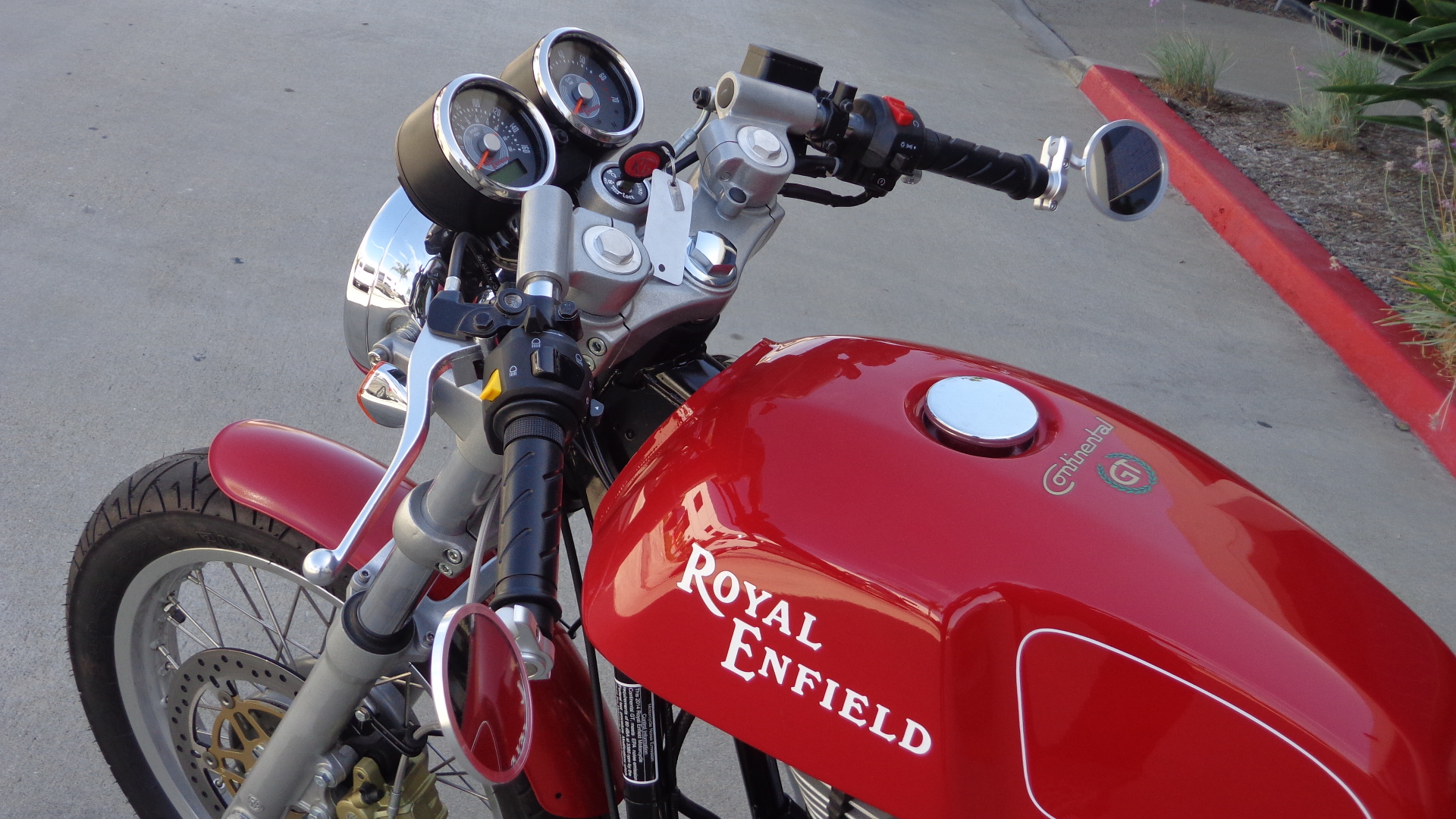 Royal Enfield Cafe Racer Hd Wallpaper Bar End Mirrors For Royal Enfield Continental Gt Carpy S