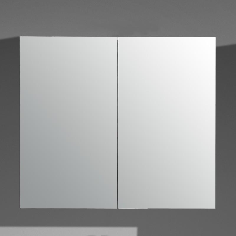 Meuble à miroir (2 ou 3 portes), armoire de salle de bain Salle de - Meuble Avec Miroir Pour Salle De Bain