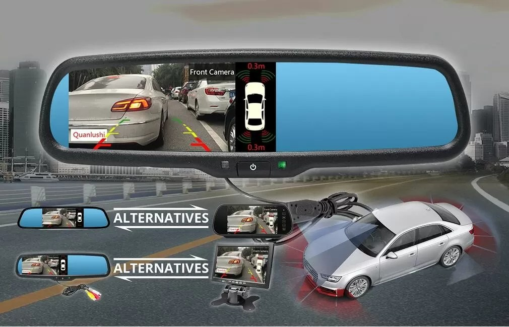 High Security Reverse Parking Sensor , Front And Rear Parking