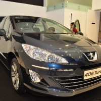 Peugeot 408 Turbo Test Drive Review in Queensbay Mall
