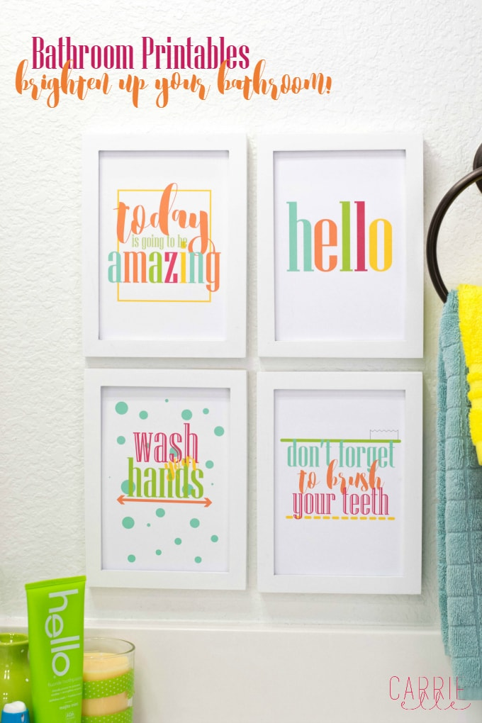 Make Your Bathroom a Happier Place with these Bright Bathroom