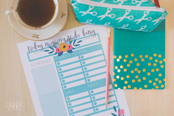 There\u0027s Nothing Quite Like a Cup of Tea {and a Printable Day Planner
