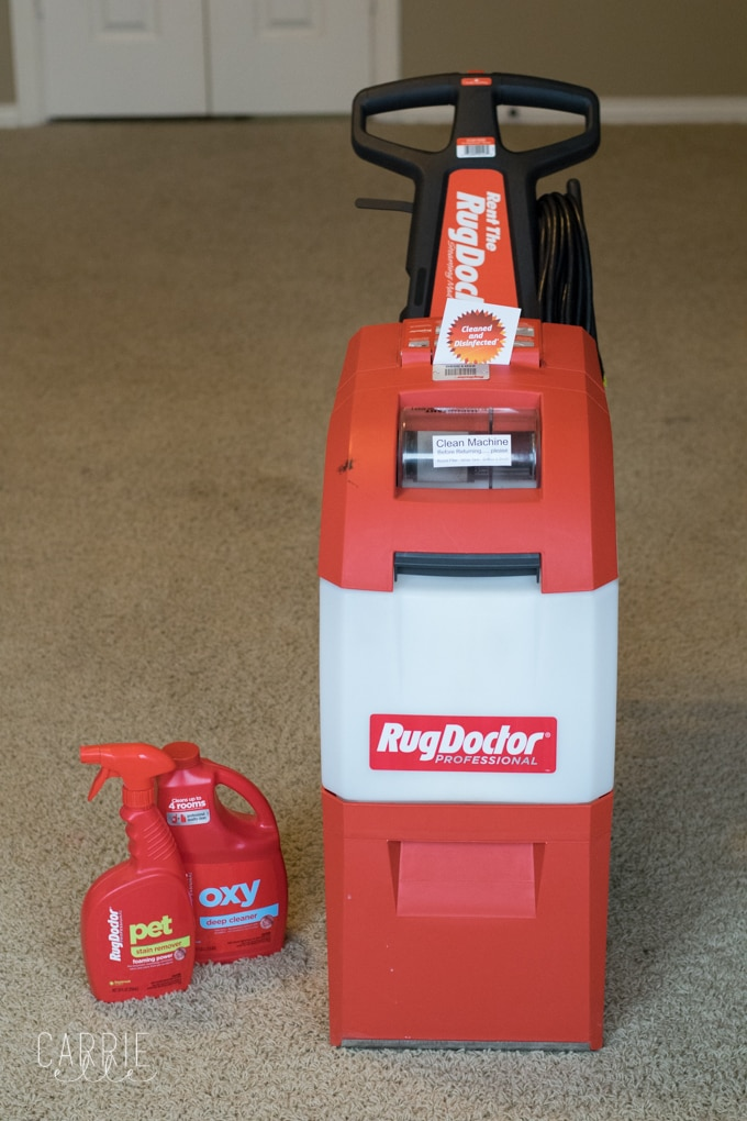 Diy Carpet Cleaning: How $50 And One Hour Of Work Freshened Up Our