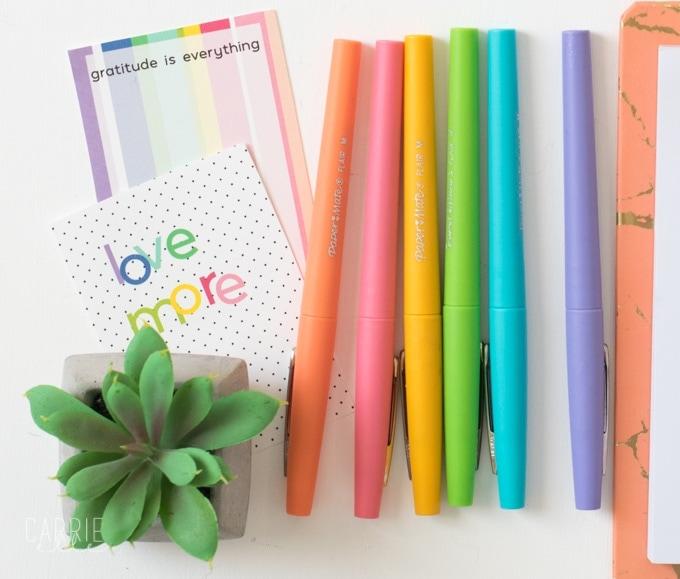 Best Planner Pens - Carrie Elle
