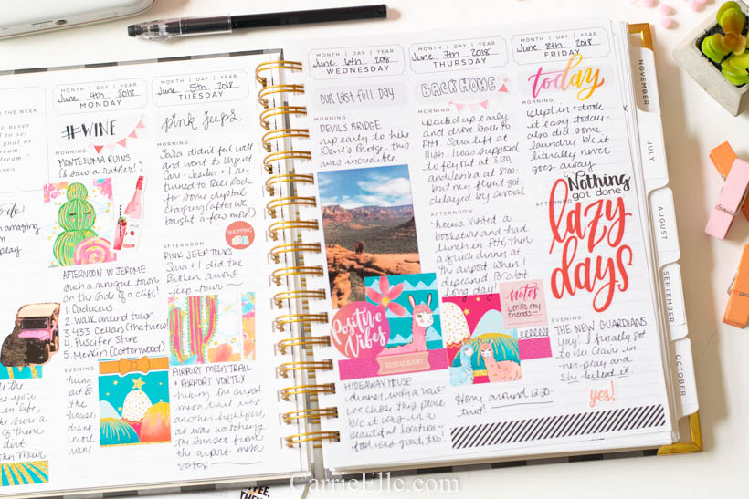 What is a Memory Planner? - Carrie Elle