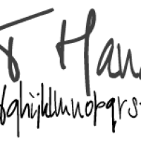 My favorite free handwritten cursive fonts