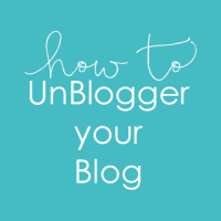 How to make your Blogger blog not look like a, um, Blogger blog