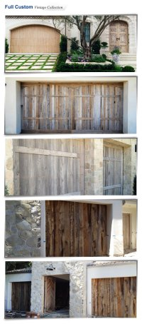 Ranch House Doors | Carroll Garage Doors