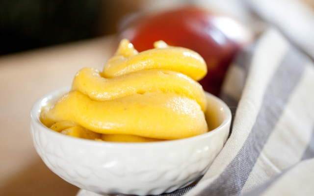 Dairy-free Mango Soft Serve, Ready In Under 5 Minutes