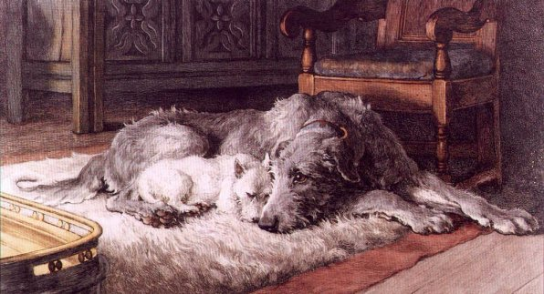 Art Car Wallpaper Wolfhounds In Art