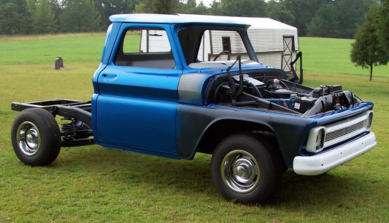 1966 Chevy C-10 Shortbed Pickup Cars On Line Classic Cars