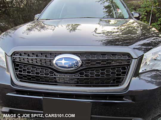 2014 Subaru Forester Options and Upgrades Page
