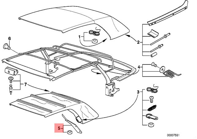 bmw e36 soft top wiring diagram
