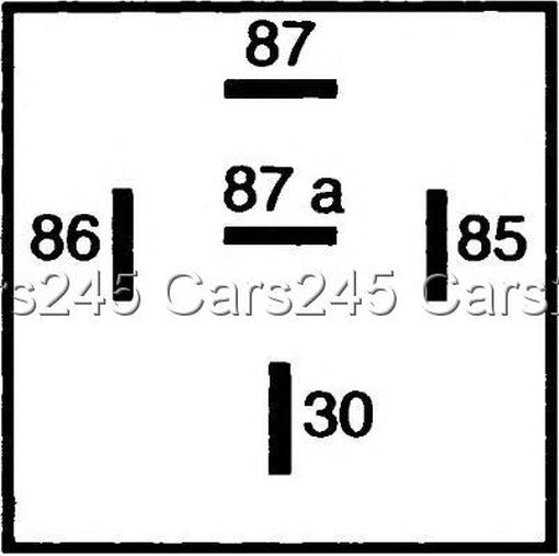 hella hl87429 mini relay 12v 10 20a spdt with resistor
