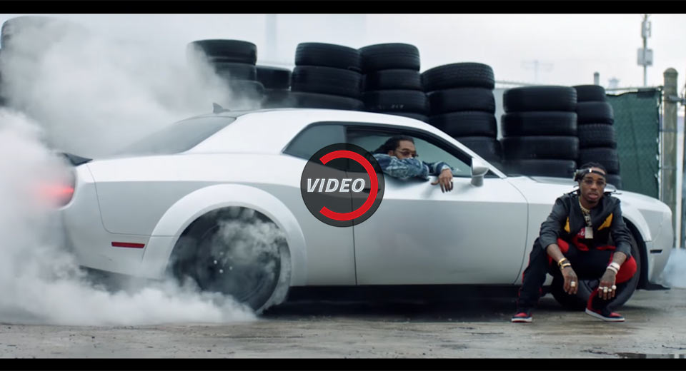 the fate of the furious music video shows off dodge challenger srt demon