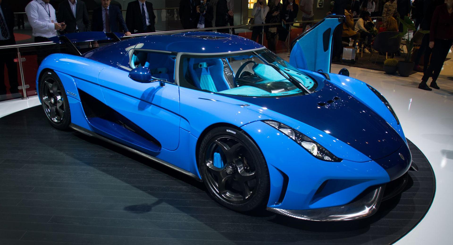 Agera Car Hd Wallpaper Tri Tone Blue Koenigsegg Regera Is A Chin Scratcher