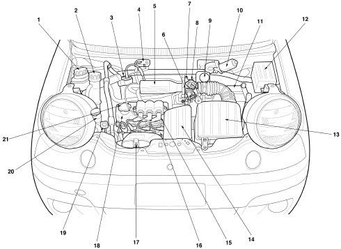 daewoo engine diagram repair manual