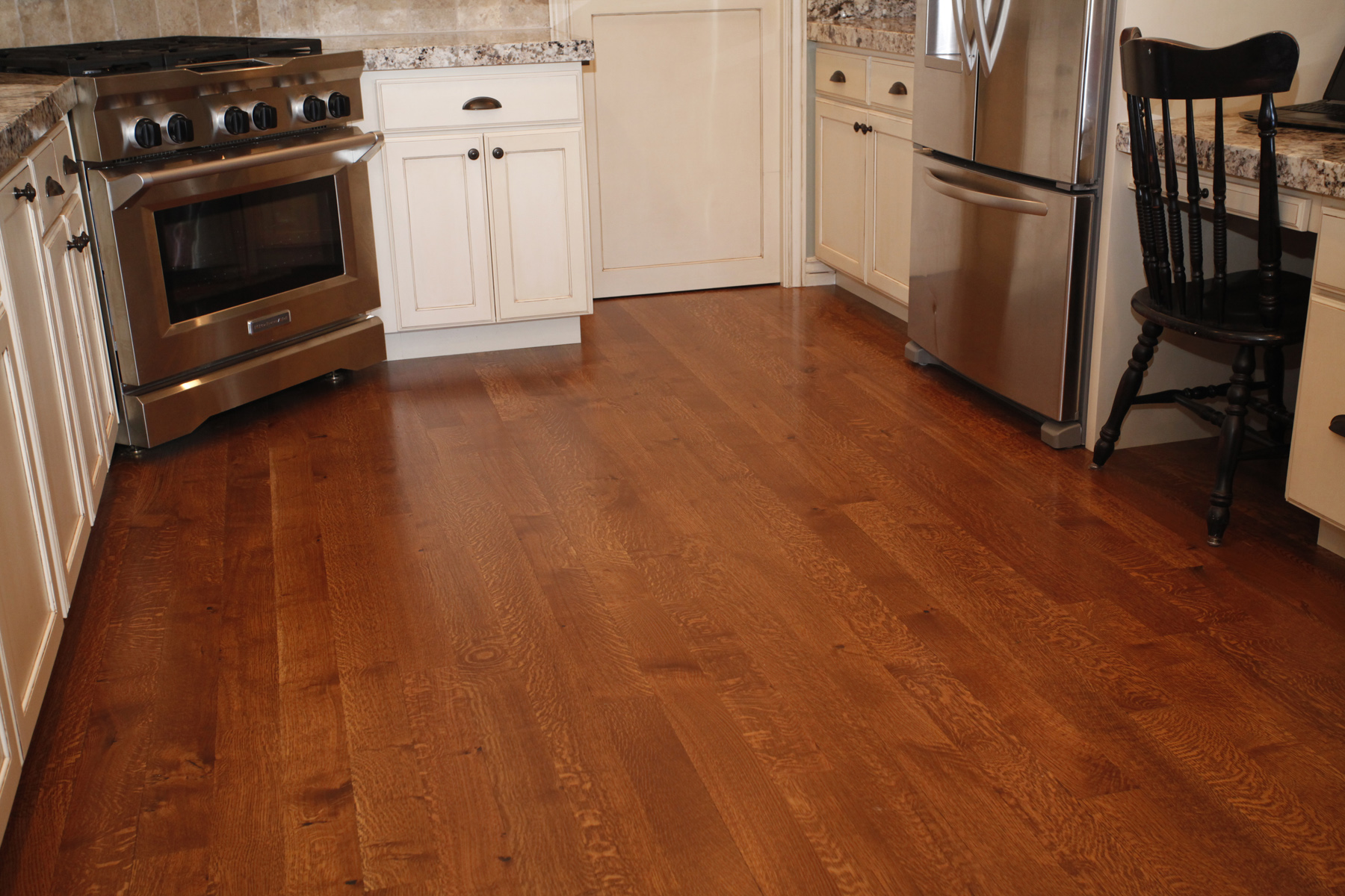 ▻ kitchen floor : dazzled wood floors in kitchen cherry kitchen