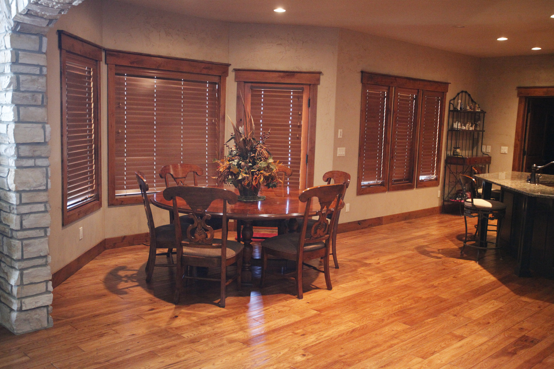 hardwood floor kitchens wood floors in kitchen Large kitchen hardwood floor