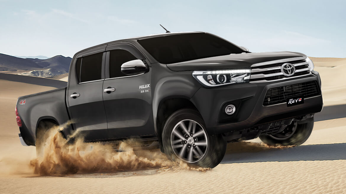 2018 Toyota Hilux Revo Launched with New 28L Engine CarSpiritPK