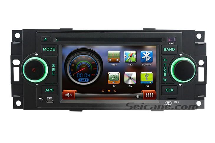 How to Remove a 2005 2006 2007 Jeep Grand Cherokee Radio - Car