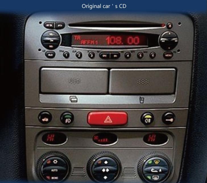 2005-2013 Alfa Romeo 147 CD Stereo Removal Instruction - Car Stereo FAQs
