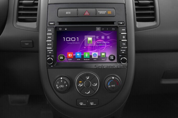 11 steps to install 2012 2013 2014 KIA SOUL Radio with touch screen