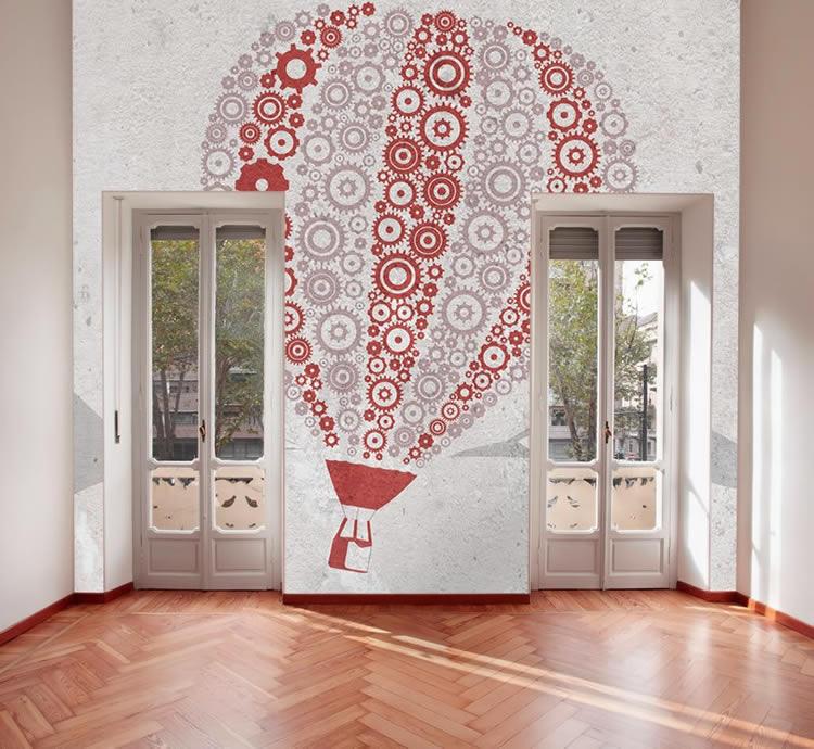 Carta da parati design Texture per pareti design di casa