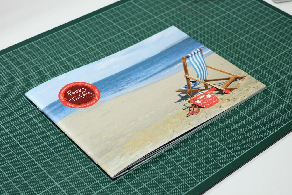 Poppy Treffry / SS15 Catalogue Design Carta Graphic Design