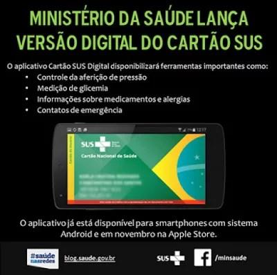Cartão SUS Digital