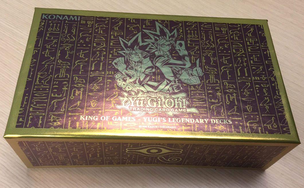Deck Legendaire Yugi Roi Des Jeux Carte Yu Gi Oh