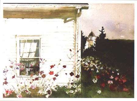 Andrew Wyeth around-the-corner