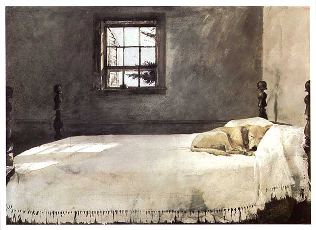 Andrew Wyeth - masterbedroom