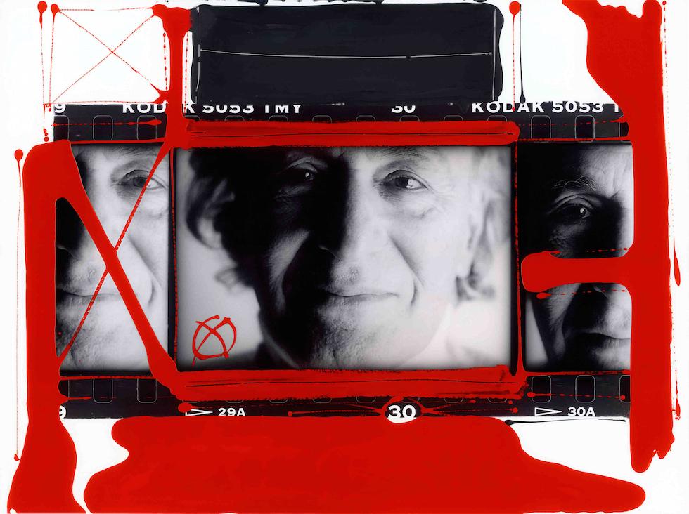 Autoritratto William Klein, Parigi 1998 © William Klein