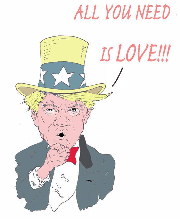 DAVIDE RACCA III TRUMP LOVE