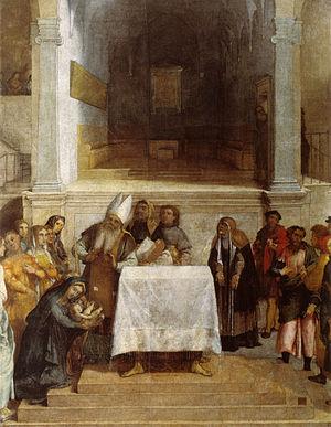 presentazione al tempio