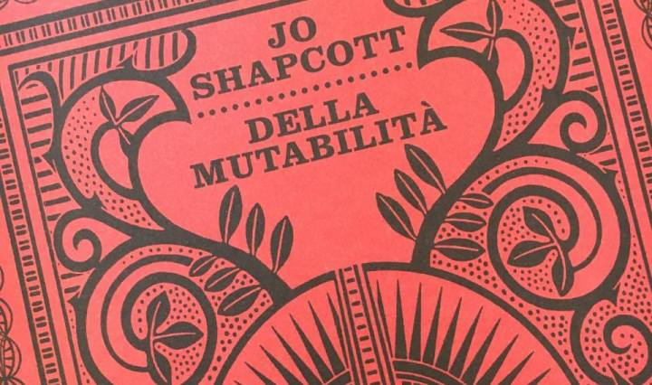 JO SHAPCOTT copertina