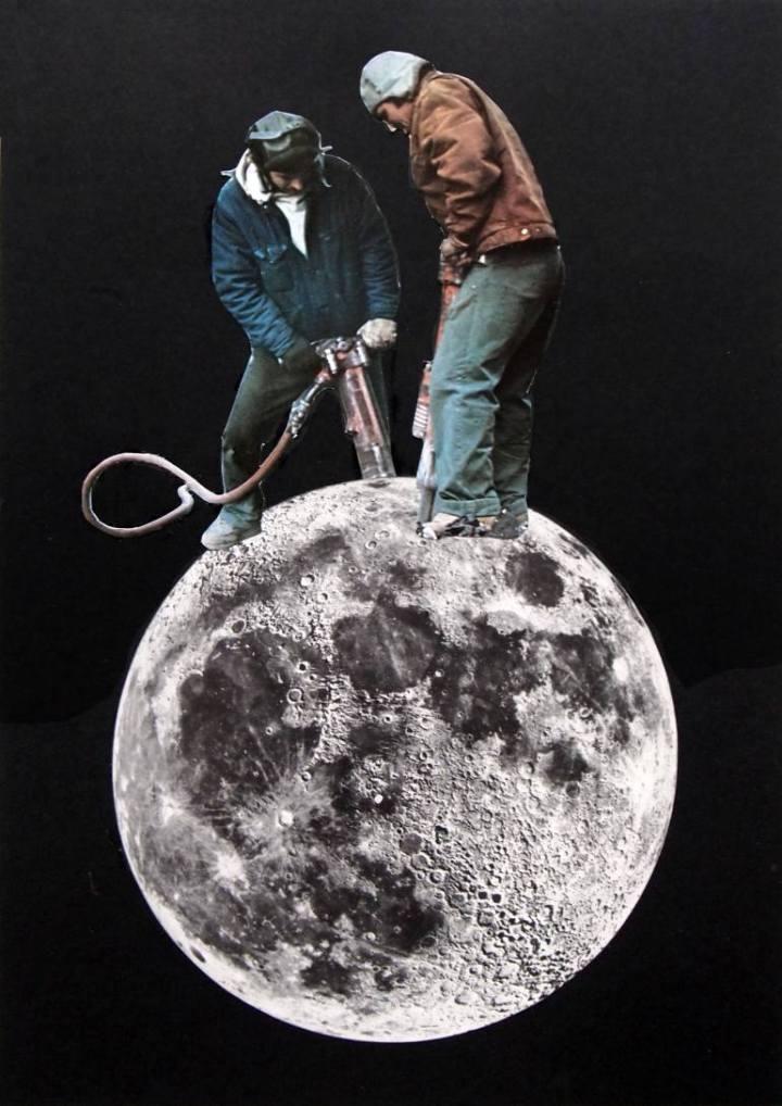 Creuser la Lune